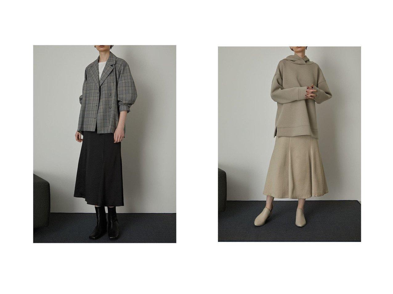 【RIM.ARK/リムアーク】のHem volume middle SK スカートのおすすめ!人気、トレンド・レディースファッションの通販 おすすめで人気の流行・トレンド、ファッションの通販商品 メンズファッション・キッズファッション・インテリア・家具・レディースファッション・服の通販 founy(ファニー) https://founy.com/ ファッション Fashion レディースファッション WOMEN スカート Skirt Aライン/フレアスカート Flared A-Line Skirts NEW・新作・新着・新入荷 New Arrivals おすすめ Recommend ギャザー サテン フレア |ID:crp329100000024495