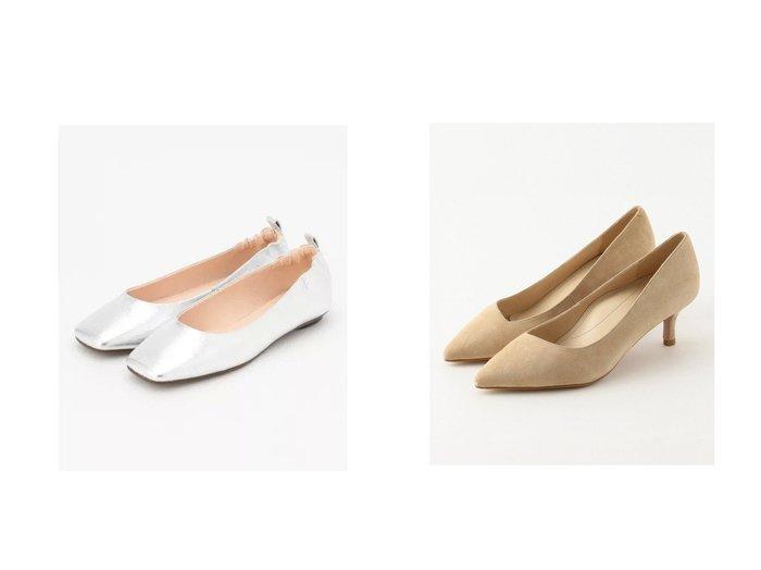 【NIJYUSANKU/23区】のMULTI FUNCTIONALパンプス&【JIYU-KU/自由区】のスクエアトゥ フラットシューズ シューズ・靴のおすすめ!人気、トレンド・レディースファッションの通販  おすすめファッション通販アイテム レディースファッション・服の通販 founy(ファニー) ファッション Fashion レディースファッション WOMEN 2021年 2021 2021 春夏 S/S SS Spring/Summer 2021 S/S 春夏 SS Spring/Summer カッティング シューズ スエード ストッキング メッシュ 抗菌 トレンド フラット 雑誌 |ID:crp329100000024515