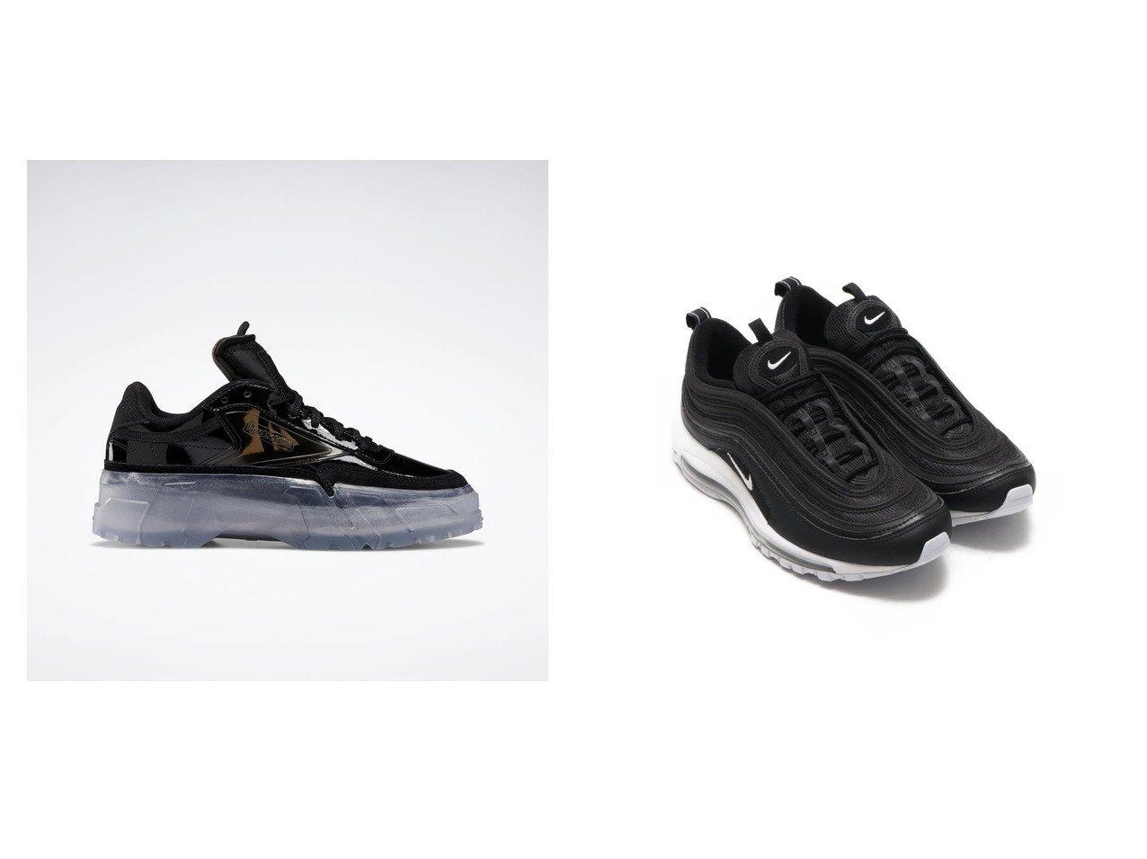 【NIKE/ナイキ】のNIKE AIR MAX 97&【Reebok/リーボック】のクラブ シー Club C Cardi シューズ・靴のおすすめ!人気、トレンド・レディースファッションの通販  おすすめで人気の流行・トレンド、ファッションの通販商品 メンズファッション・キッズファッション・インテリア・家具・レディースファッション・服の通販 founy(ファニー) https://founy.com/ ファッション Fashion レディースファッション WOMEN 2021年 2021 2021 春夏 S/S SS Spring/Summer 2021 S/S 春夏 SS Spring/Summer キャラクター シューズ ストレート スニーカー チェック ライニング 春 Spring スリッポン |ID:crp329100000024520