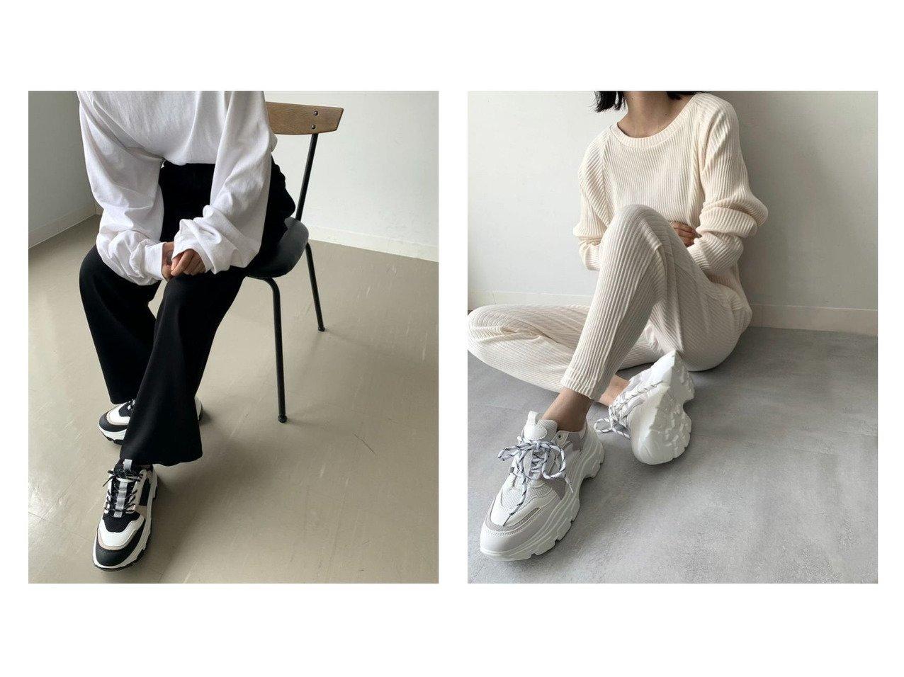 【via j/ヴィアジェイ】のVia j(ヴィアジェイ) newダッドスニーカー シューズ・靴のおすすめ!人気、トレンド・レディースファッションの通販  おすすめで人気の流行・トレンド、ファッションの通販商品 メンズファッション・キッズファッション・インテリア・家具・レディースファッション・服の通販 founy(ファニー) https://founy.com/ ファッション Fashion レディースファッション WOMEN シューズ スニーカー スリッポン 再入荷 Restock/Back in Stock/Re Arrival |ID:crp329100000024521