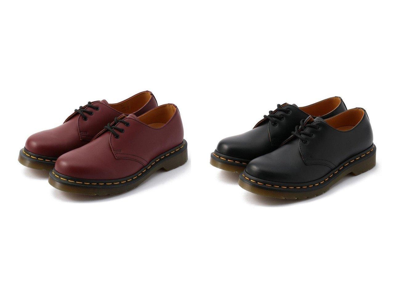 【UNCUT BOUND/アンカット バウンド】の14613EYEGIBSON3ホールギブソンDr.Martens(ドクターマーチン) シューズ・靴のおすすめ!人気、トレンド・レディースファッションの通販  おすすめで人気の流行・トレンド、ファッションの通販商品 メンズファッション・キッズファッション・インテリア・家具・レディースファッション・服の通販 founy(ファニー) https://founy.com/ ファッション Fashion レディースファッション WOMEN クッション シューズ シンプル 定番 Standard ロンドン |ID:crp329100000024522