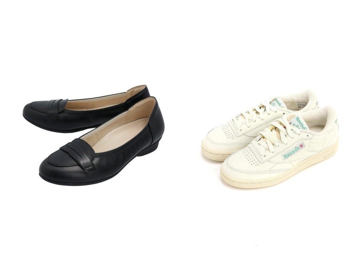 【asics/アシックス】の《アシックス公式》 カジュアルシューズ Pedala 【ペダラ WC110D 2E】&【Reebok CLASSIC/リーボック】のクラブ シー CLUB C 1985 TV リーボック シューズ・靴のおすすめ!人気、トレンド・レディースファッションの通販  おすすめで人気の流行・トレンド、ファッションの通販商品 メンズファッション・キッズファッション・インテリア・家具・レディースファッション・服の通販 founy(ファニー) https://founy.com/ ファッション Fashion レディースファッション WOMEN クッション シューズ フェミニン フラット ラウンド クラシック シンプル スニーカー スリッポン 軽量 |ID:crp329100000024525