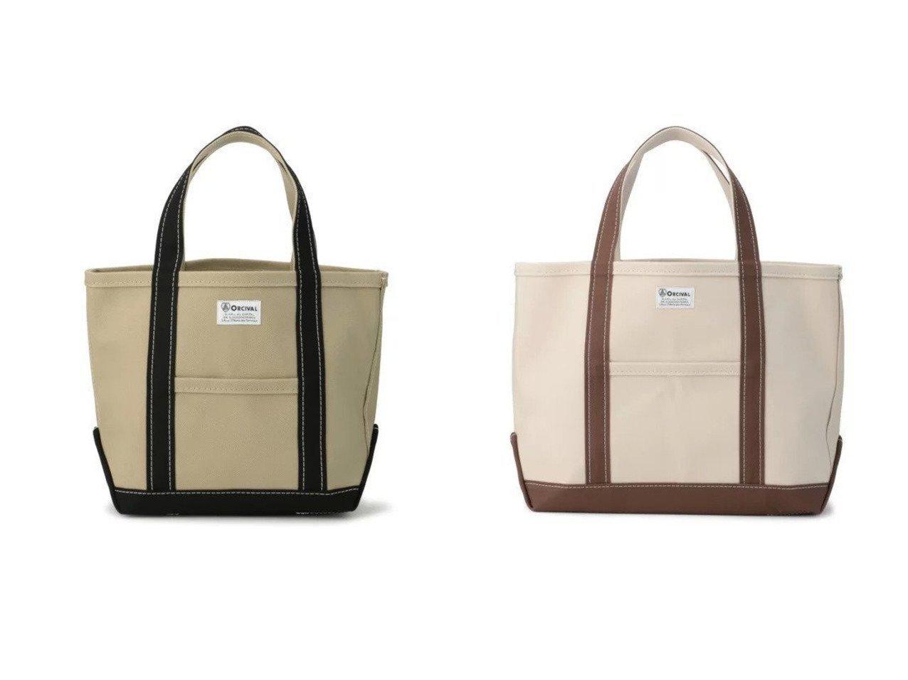 【ORCIVAL/オーシバル】のキャンバストートバッグM&キャンバストートバッグS バッグ・鞄のおすすめ!人気、トレンド・レディースファッションの通販  おすすめで人気の流行・トレンド、ファッションの通販商品 メンズファッション・キッズファッション・インテリア・家具・レディースファッション・服の通販 founy(ファニー) https://founy.com/ ファッション Fashion レディースファッション WOMEN バッグ Bag A/W 秋冬 AW Autumn/Winter / FW Fall-Winter キャンバス 人気 フロント ポケット 定番 Standard |ID:crp329100000024529