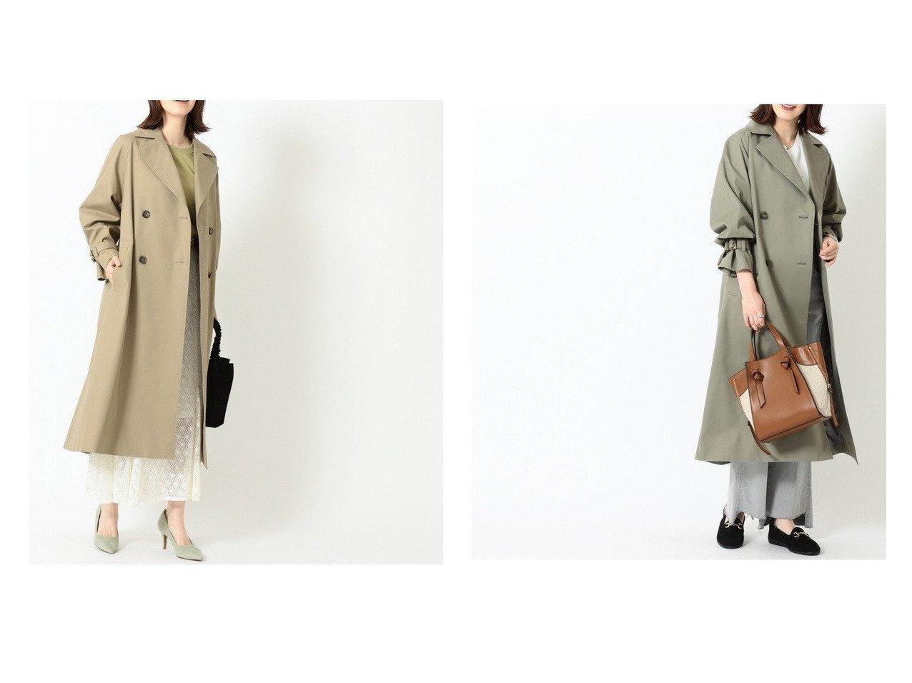 【B:MING by BEAMS/ビーミング by ビームス】のオーバー トレンチコート 21SS アウターのおすすめ!人気、トレンド・レディースファッションの通販  おすすめで人気の流行・トレンド、ファッションの通販商品 メンズファッション・キッズファッション・インテリア・家具・レディースファッション・服の通販 founy(ファニー) https://founy.com/ ファッション Fashion レディースファッション WOMEN アウター Coat Outerwear コート Coats ジャケット Jackets トレンチコート Trench Coats 2021年 2021 2021 春夏 S/S SS Spring/Summer 2021 S/S 春夏 SS Spring/Summer おすすめ Recommend ジャケット ベーシック マニッシュ 定番 Standard 春 Spring |ID:crp329100000024555