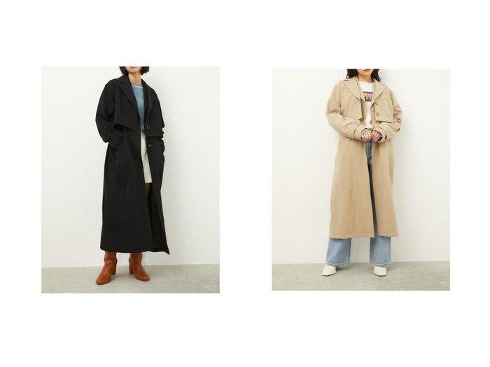 【LAGUA GEM/ラグア ジェム】の3WAY SPRING COAT アウターのおすすめ!人気、トレンド・レディースファッションの通販  おすすめファッション通販アイテム レディースファッション・服の通販 founy(ファニー)  ファッション Fashion レディースファッション WOMEN アウター Coat Outerwear コート Coats NEW・新作・新着・新入荷 New Arrivals |ID:crp329100000024582