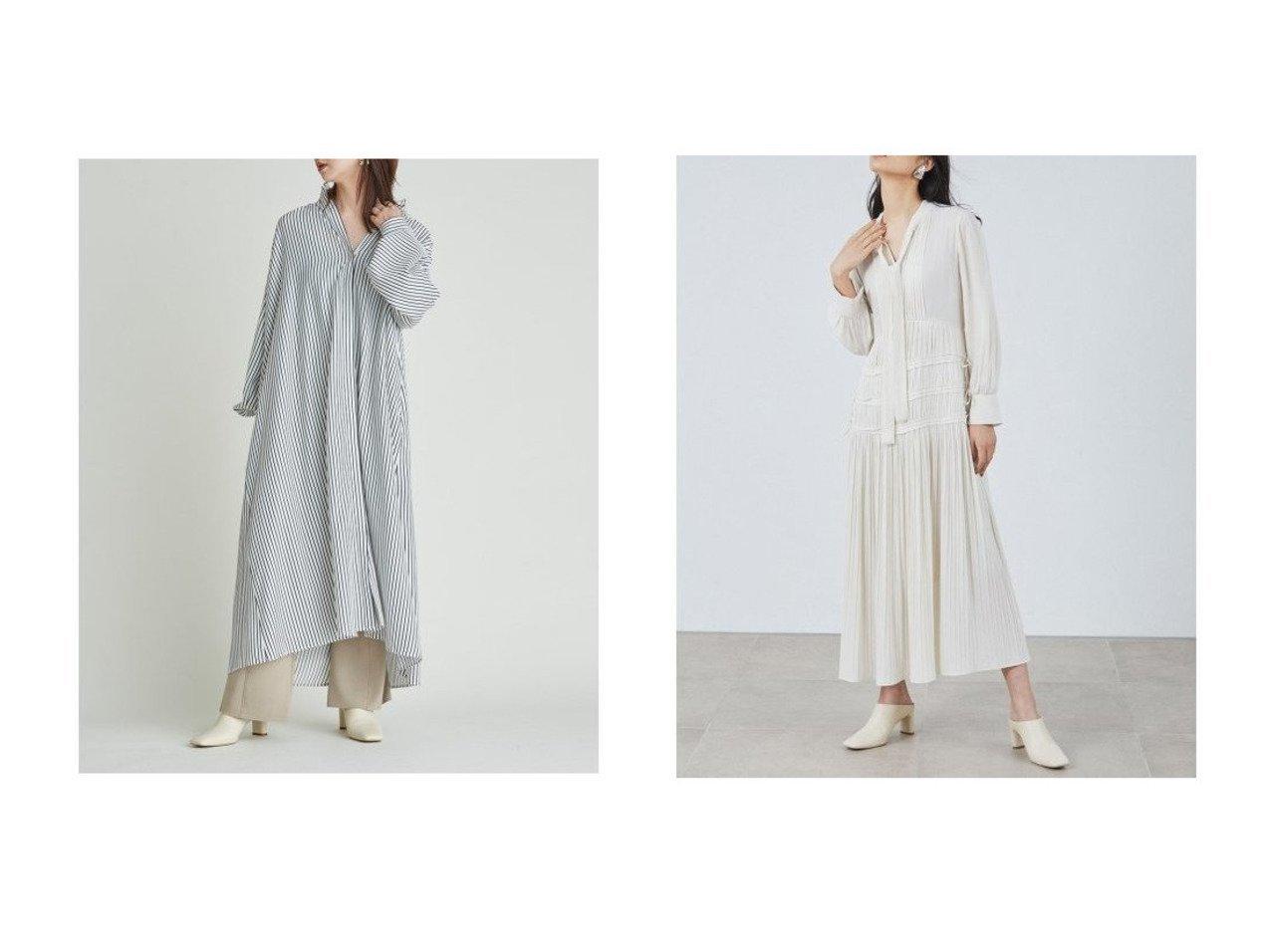 【FRAY I.D/フレイ アイディー】のギャザーロングシャツワンピース&2wayジョーゼットプリーツワンピース ワンピース・ドレスのおすすめ!人気、トレンド・レディースファッションの通販 おすすめで人気の流行・トレンド、ファッションの通販商品 メンズファッション・キッズファッション・インテリア・家具・レディースファッション・服の通販 founy(ファニー) https://founy.com/ ファッション Fashion レディースファッション WOMEN ワンピース Dress シャツワンピース Shirt Dresses ジョーゼット スマート ドット フェミニン プリーツ ベスト 無地 リボン ロング 再入荷 Restock/Back in Stock/Re Arrival |ID:crp329100000024608