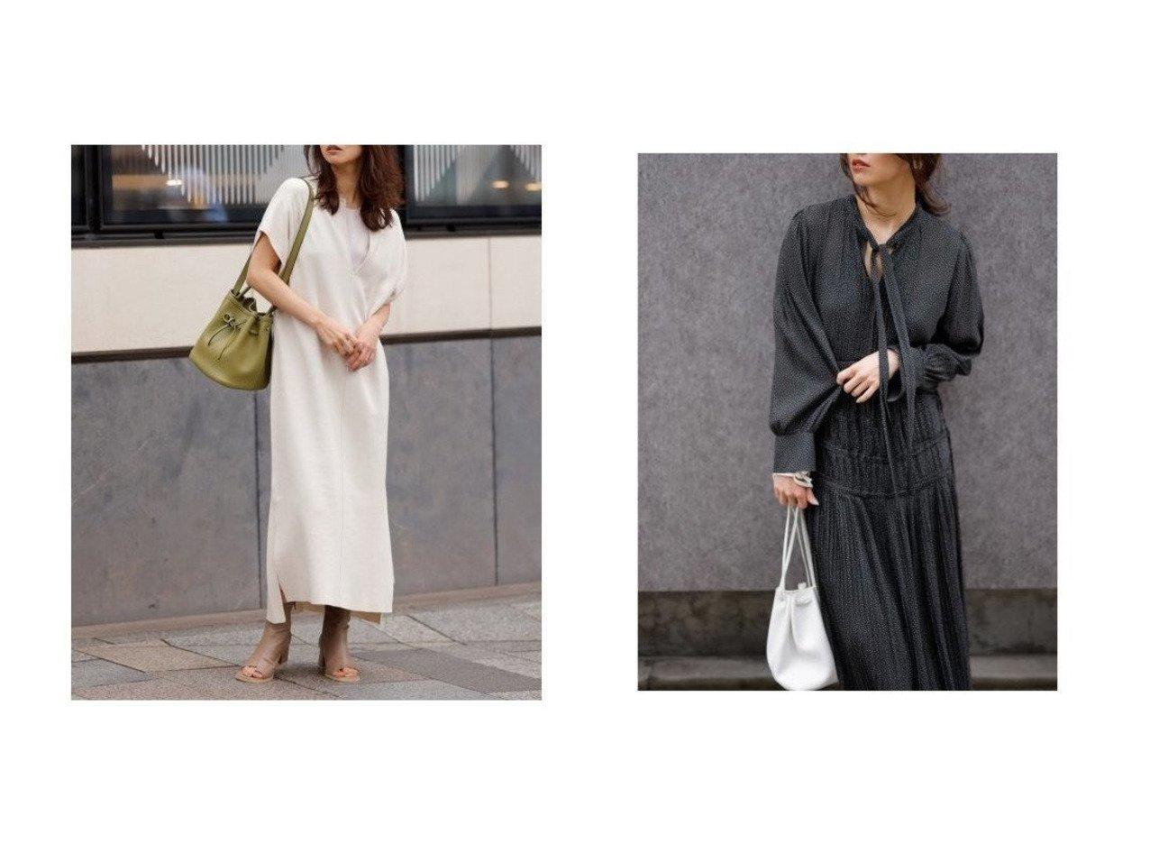 【FRAY I.D/フレイ アイディー】の2wayジョーゼットプリーツワンピース&レイヤードカフタンニットワンピース ワンピース・ドレスのおすすめ!人気、トレンド・レディースファッションの通販 おすすめで人気の流行・トレンド、ファッションの通販商品 メンズファッション・キッズファッション・インテリア・家具・レディースファッション・服の通販 founy(ファニー) https://founy.com/ ファッション Fashion レディースファッション WOMEN ワンピース Dress ニットワンピース Knit Dresses ジョーゼット スマート ドット フェミニン プリーツ ベスト 無地 リボン ロング 再入荷 Restock/Back in Stock/Re Arrival インナー サテン スリット おすすめ Recommend |ID:crp329100000024609