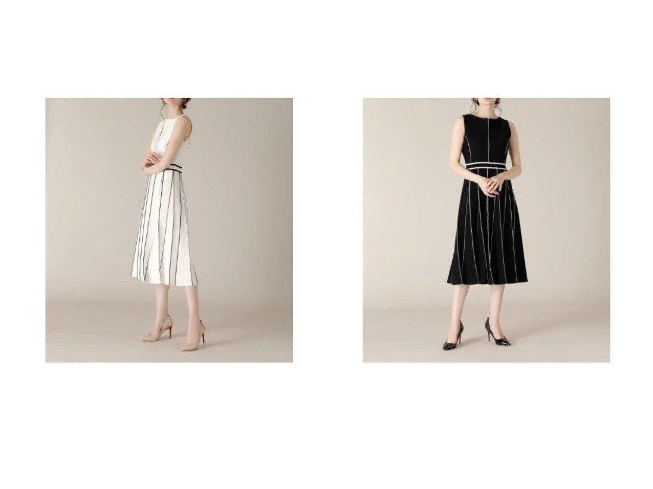 【ef-de/エフデ】の《M Maglie le cassetto》バイカラーニットワンピース ワンピース・ドレスのおすすめ!人気、トレンド・レディースファッションの通販 おすすめで人気の流行・トレンド、ファッションの通販商品 メンズファッション・キッズファッション・インテリア・家具・レディースファッション・服の通販 founy(ファニー) https://founy.com/ ファッション Fashion レディースファッション WOMEN ワンピース Dress ニットワンピース Knit Dresses おすすめ Recommend カーディガン ストレッチ セットアップ ノースリーブ 定番 Standard |ID:crp329100000024614