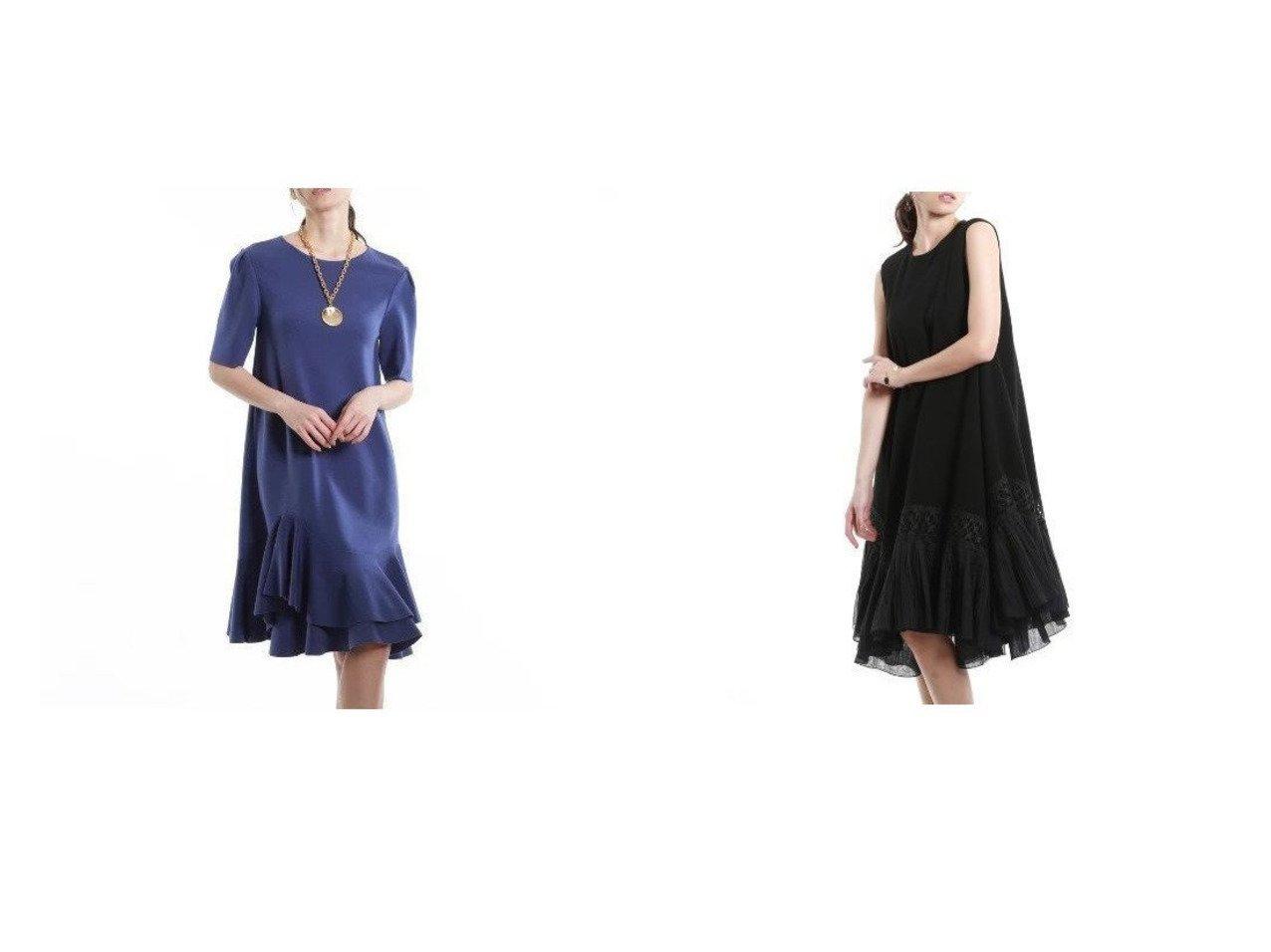 【EPOCA/エポカ】のトーションレースシアードレス&キュプラベーシックフレアドレス ワンピース・ドレスのおすすめ!人気、トレンド・レディースファッションの通販 おすすめで人気の流行・トレンド、ファッションの通販商品 メンズファッション・キッズファッション・インテリア・家具・レディースファッション・服の通販 founy(ファニー) https://founy.com/ ファッション Fashion レディースファッション WOMEN ワンピース Dress ドレス Party Dresses ストレッチ ドレス ドレープ フォーマル フレア 定番 Standard イレギュラーヘム エレガント シアー プリーツ ラグジュアリー |ID:crp329100000024615