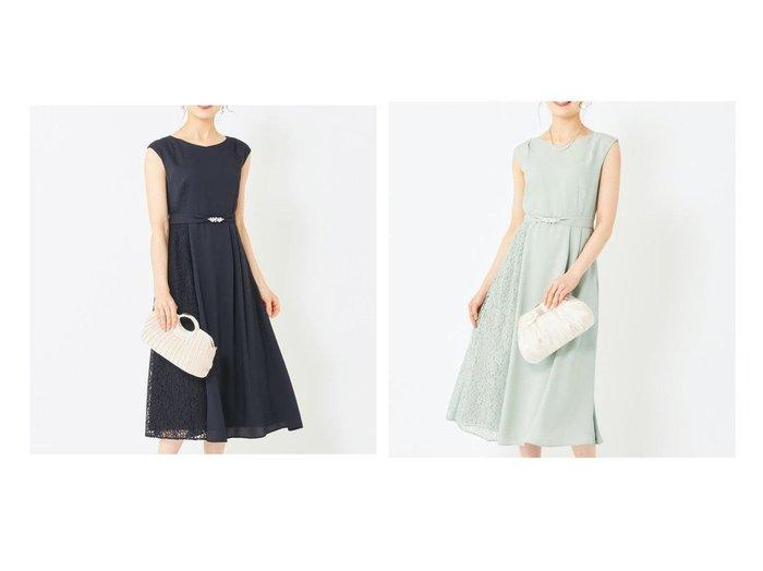 【any SiS/エニィ スィス】の【2WAY】サイドレースジュエル ドレス ワンピース・ドレスのおすすめ!人気、トレンド・レディースファッションの通販 おすすめ人気トレンドファッション通販アイテム 人気、トレンドファッション・服の通販 founy(ファニー) ファッション Fashion レディースファッション WOMEN ワンピース Dress ドレス Party Dresses ジュエル ジョーゼット ドレス ドレープ ビジュー レース ロング 定番 Standard |ID:crp329100000024626