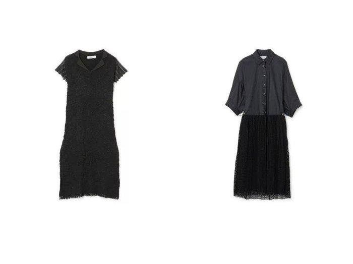 【MALAMUTE/マラミュート】のAJISAI KNIT DRESS&【IN-PROCESS/インプロセス】のOVERSIZE PLEATED SHIRT DRESS ワンピース・ドレスのおすすめ!人気、トレンド・レディースファッションの通販 おすすめファッション通販アイテム レディースファッション・服の通販 founy(ファニー) ファッション Fashion レディースファッション WOMEN ワンピース Dress ドレス Party Dresses ニットワンピース Knit Dresses シャツワンピース Shirt Dresses 2021年 2021 2021 春夏 S/S SS Spring/Summer 2021 S/S 春夏 SS Spring/Summer エレガント スカラップ ドレス フェミニン フォーマル フレンチ モチーフ レース 半袖 洗える スリーブ  ID:crp329100000024630