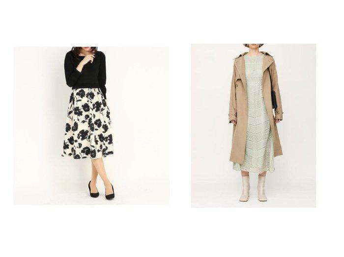 【SLY/スライ】のLADDER LACE ドレス&【STRAWBERRY FIELDS/ストロベリーフィールズ】のノワールブルーム ワンピース・ドレスのおすすめ!人気、トレンド・レディースファッションの通販 おすすめファッション通販アイテム レディースファッション・服の通販 founy(ファニー)  ファッション Fashion レディースファッション WOMEN ワンピース Dress ドレス Party Dresses NEW・新作・新着・新入荷 New Arrivals ドッキング フェミニン モノトーン リボン おすすめ Recommend ドレス レース ロング ヴィンテージ 春 Spring |ID:crp329100000024634