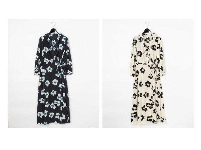 【GRACE CONTINENTAL/グレース コンチネンタル】のレオパードフラワーワンピース ワンピース・ドレスのおすすめ!人気、トレンド・レディースファッションの通販 おすすめ人気トレンドファッション通販アイテム 人気、トレンドファッション・服の通販 founy(ファニー)  ファッション Fashion レディースファッション WOMEN ワンピース Dress フラワー フリル リボン ヴィンテージ 今季 再入荷 Restock/Back in Stock/Re Arrival |ID:crp329100000024643