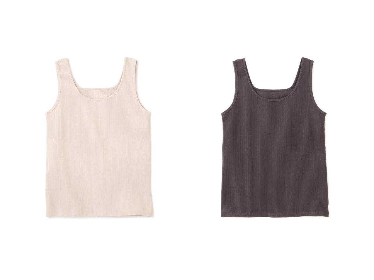 【NATURAL BEAUTY BASIC/ナチュラル ビューティー ベーシック】のコットンテレコタンク おすすめ!人気、トレンド・レディースファッションの通販  おすすめで人気の流行・トレンド、ファッションの通販商品 メンズファッション・キッズファッション・インテリア・家具・レディースファッション・服の通販 founy(ファニー) https://founy.com/ ファッション Fashion レディースファッション WOMEN インナー スクエア タンク テレコ ラウンド 人気  ID:crp329100000024676