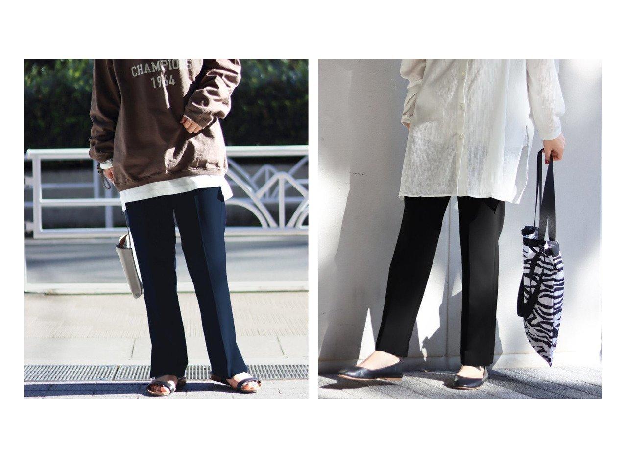【JOURNAL STANDARD/ジャーナルスタンダード】のWクロス サイドベントパンツ パンツのおすすめ!人気、トレンド・レディースファッションの通販 おすすめで人気の流行・トレンド、ファッションの通販商品 メンズファッション・キッズファッション・インテリア・家具・レディースファッション・服の通販 founy(ファニー) https://founy.com/ ファッション Fashion レディースファッション WOMEN パンツ Pants 2021年 2021 2021 春夏 S/S SS Spring/Summer 2021 S/S 春夏 SS Spring/Summer スウェット スニーカー フィット 再入荷 Restock/Back in Stock/Re Arrival |ID:crp329100000024695