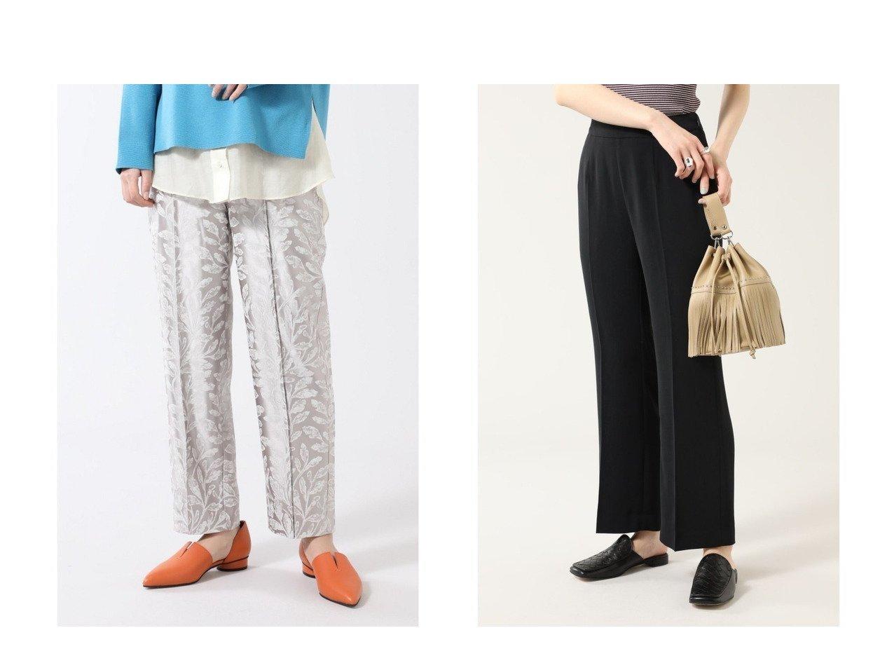 【ROSE BUD/ローズバッド】のジャカードパンツ&セミフレアパンツ パンツのおすすめ!人気、トレンド・レディースファッションの通販 おすすめで人気の流行・トレンド、ファッションの通販商品 メンズファッション・キッズファッション・インテリア・家具・レディースファッション・服の通販 founy(ファニー) https://founy.com/ ファッション Fashion レディースファッション WOMEN パンツ Pants NEW・新作・新着・新入荷 New Arrivals ジャカード ジーンズ スタンダード ストレート トレンド センター フレア 今季 再入荷 Restock/Back in Stock/Re Arrival |ID:crp329100000024702