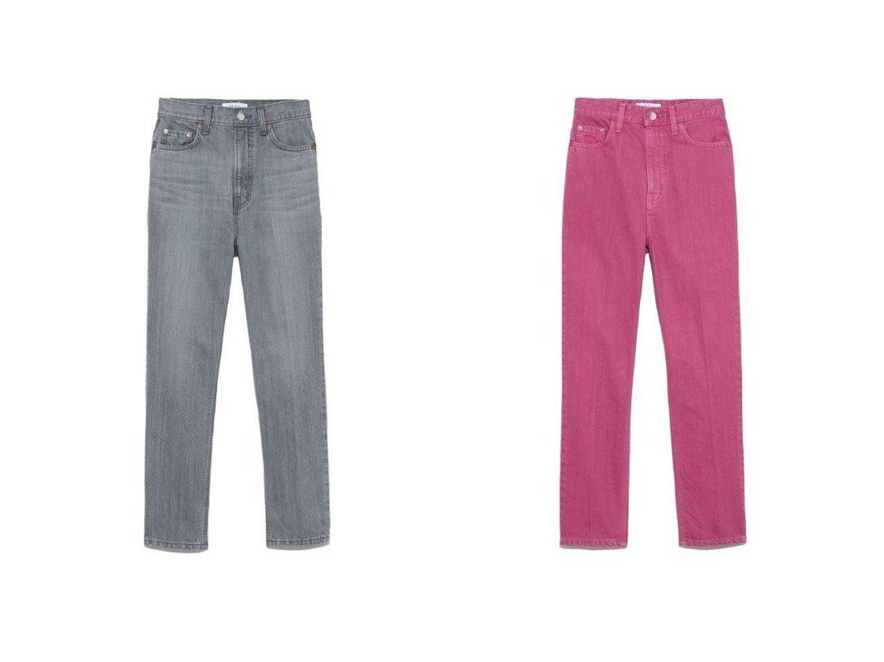 【Mila Owen/ミラオーウェン】の寸たらセンタープレスデニム パンツのおすすめ!人気、トレンド・レディースファッションの通販 おすすめで人気の流行・トレンド、ファッションの通販商品 メンズファッション・キッズファッション・インテリア・家具・レディースファッション・服の通販 founy(ファニー) https://founy.com/ ファッション Fashion レディースファッション WOMEN パンツ Pants デニムパンツ Denim Pants スマート センター テーパード デニム ベーシック おすすめ Recommend |ID:crp329100000024704