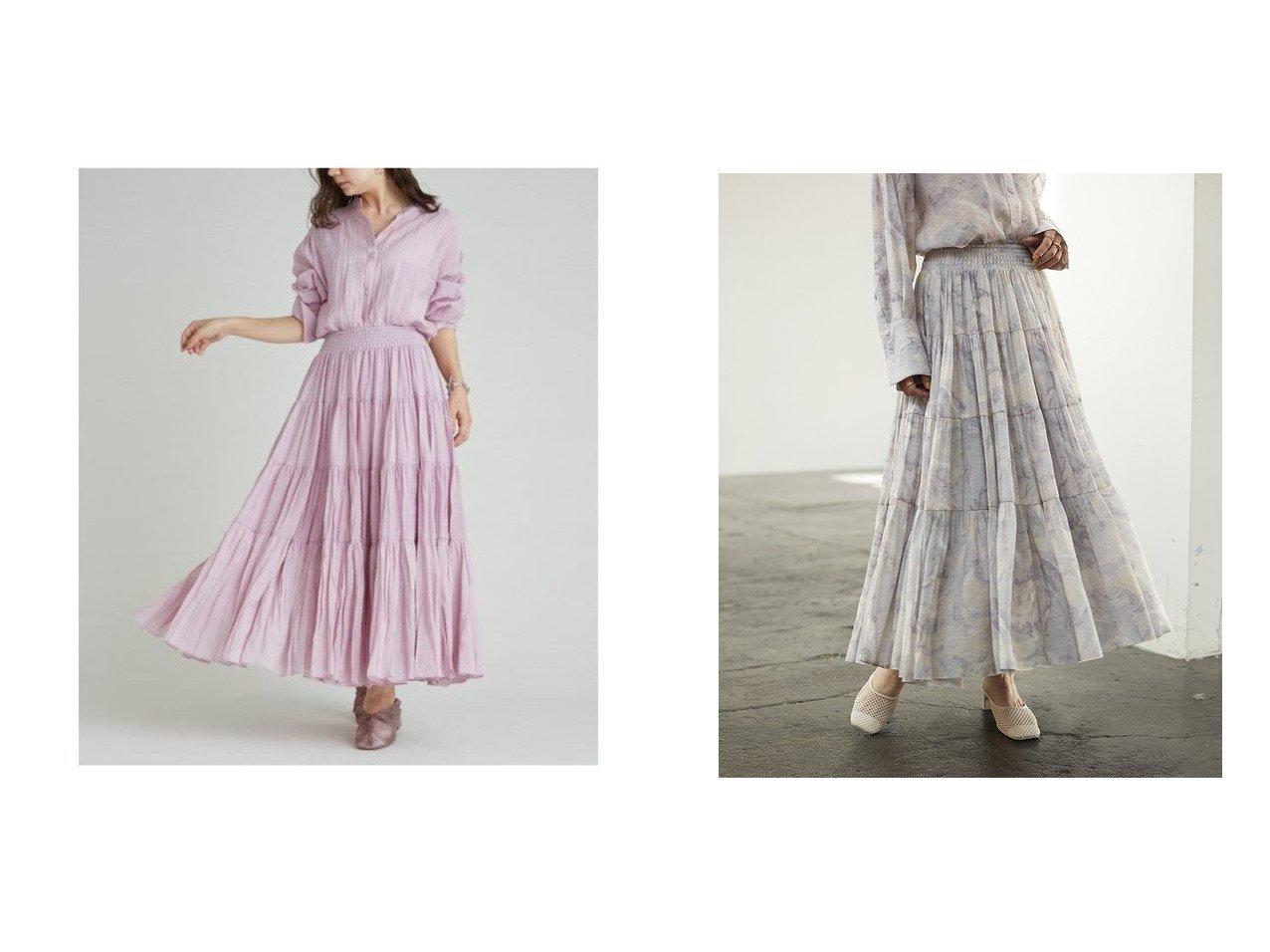 【SNIDEL/スナイデル】のシアーボリュームティアードスカート スカートのおすすめ!人気、トレンド・レディースファッションの通販 おすすめで人気の流行・トレンド、ファッションの通販商品 メンズファッション・キッズファッション・インテリア・家具・レディースファッション・服の通販 founy(ファニー) https://founy.com/ ファッション Fashion レディースファッション WOMEN スカート Skirt Aライン/フレアスカート Flared A-Line Skirts ティアードスカート Tiered Skirts ギャザー シアー スマート セットアップ ティアードスカート フレア プリント マーブル ミックス 再入荷 Restock/Back in Stock/Re Arrival おすすめ Recommend |ID:crp329100000024724
