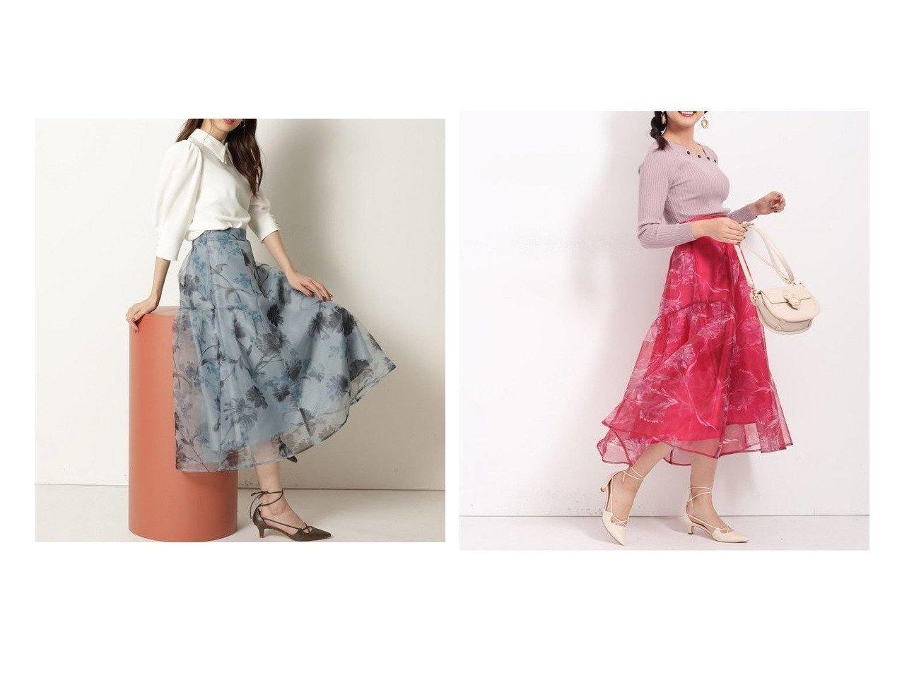 【Rirandture/リランドチュール】のオーガンフラワーアシメスカート スカートのおすすめ!人気、トレンド・レディースファッションの通販 おすすめで人気の流行・トレンド、ファッションの通販商品 メンズファッション・キッズファッション・インテリア・家具・レディースファッション・服の通販 founy(ファニー) https://founy.com/ ファッション Fashion レディースファッション WOMEN スカート Skirt Aライン/フレアスカート Flared A-Line Skirts おすすめ Recommend ギャザー ファブリック フラワー フレア プリント ロマンティック 再入荷 Restock/Back in Stock/Re Arrival |ID:crp329100000024725