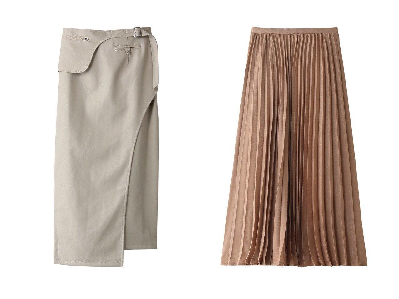 【ROSE BUD/ローズバッド】のシャイニープリーツスカート&フェイクレザーストレートスカート スカートのおすすめ!人気、トレンド・レディースファッションの通販 おすすめで人気の流行・トレンド、ファッションの通販商品 メンズファッション・キッズファッション・インテリア・家具・レディースファッション・服の通販 founy(ファニー) https://founy.com/ ファッション Fashion レディースファッション WOMEN スカート Skirt プリーツスカート Pleated Skirts ロングスカート Long Skirt 2021年 2021 2021 春夏 S/S SS Spring/Summer 2021 S/S 春夏 SS Spring/Summer ストレート トレンド フェイクレザー ポーチ 春 Spring シャイニー プリーツ ロング  ID:crp329100000024753