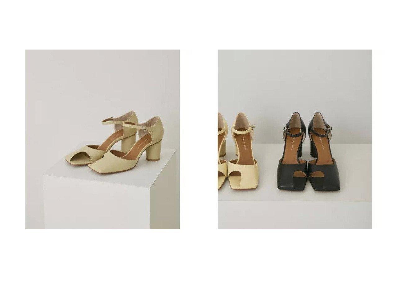 【ADAM ET ROPE'/アダム エ ロペ】のカットアウトスクエアサンダル シューズ・靴のおすすめ!人気、トレンド・レディースファッションの通販 おすすめで人気の流行・トレンド、ファッションの通販商品 メンズファッション・キッズファッション・インテリア・家具・レディースファッション・服の通販 founy(ファニー) https://founy.com/ ファッション Fashion レディースファッション WOMEN サンダル シューズ ベーシック ラップ 今季 定番 Standard  ID:crp329100000024759
