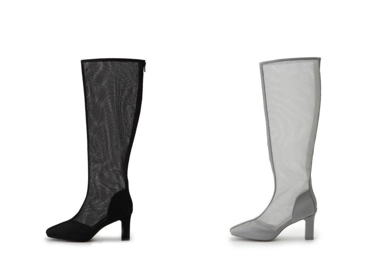 【SNIDEL/スナイデル】のメッシュロングブーツ シューズ・靴のおすすめ!人気、トレンド・レディースファッションの通販 おすすめで人気の流行・トレンド、ファッションの通販商品 メンズファッション・キッズファッション・インテリア・家具・レディースファッション・服の通販 founy(ファニー) https://founy.com/ ファッション Fashion レディースファッション WOMEN エアリー 春 Spring シューズ スクエア スマート センター トレンド 人気 バランス ベーシック メッシュ ロング A/W 秋冬 AW Autumn/Winter / FW Fall-Winter おすすめ Recommend  ID:crp329100000024761