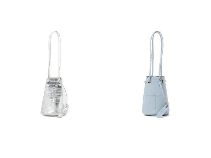【Demi-Luxe BEAMS/デミルクス ビームス】のグレイン ミニ バケツトートバッグ&メタリック 型押し ミニバケツバッグ バッグ・鞄のおすすめ!人気、トレンド・レディースファッションの通販 おすすめファッション通販アイテム インテリア・キッズ・メンズ・レディースファッション・服の通販 founy(ファニー) https://founy.com/ ファッション Fashion レディースファッション WOMEN バッグ Bag アクセサリー イタリア クロコ スタイリッシュ トレンド フォルム メタリック バランス |ID:crp329100000024770