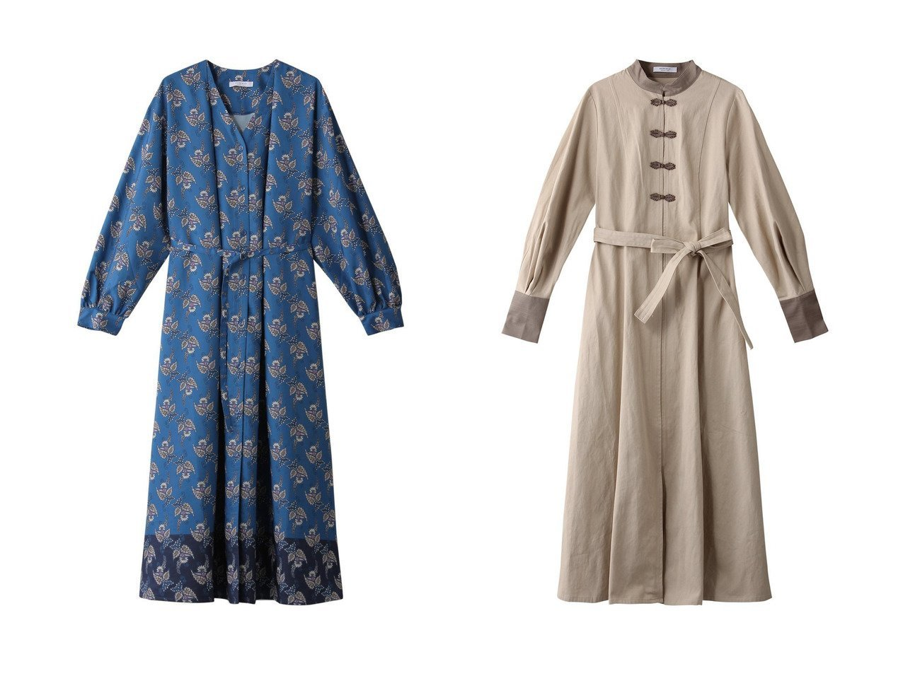 【ROSE BUD/ローズバッド】のボリュームスリーブチャイナワンピース&前開きロングワンピース ワンピース・ドレスのおすすめ!人気、トレンド・レディースファッションの通販 おすすめで人気の流行・トレンド、ファッションの通販商品 メンズファッション・キッズファッション・インテリア・家具・レディースファッション・服の通販 founy(ファニー) https://founy.com/ ファッション Fashion レディースファッション WOMEN ワンピース Dress 2021年 2021 2021 春夏 S/S SS Spring/Summer 2021 S/S 春夏 SS Spring/Summer ギャザー ロング 春 Spring 羽織 おすすめ Recommend カフス シェイプ スリーブ リボン |ID:crp329100000024805