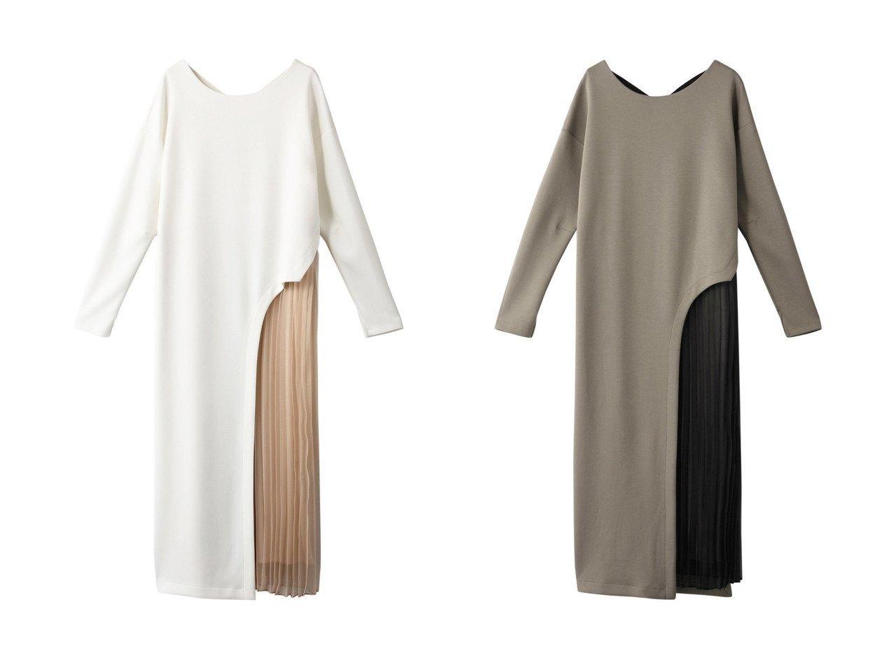 【AULA/アウラ】の【AULA AILA】プリーツパーツドレス ワンピース・ドレスのおすすめ!人気、トレンド・レディースファッションの通販 おすすめで人気の流行・トレンド、ファッションの通販商品 メンズファッション・キッズファッション・インテリア・家具・レディースファッション・服の通販 founy(ファニー) https://founy.com/ ファッション Fashion レディースファッション WOMEN ワンピース Dress ドレス Party Dresses 2021年 2021 2021 春夏 S/S SS Spring/Summer 2021 S/S 春夏 SS Spring/Summer なめらか ストレート スニーカー ドレス プリーツ リラックス 春 Spring |ID:crp329100000024813