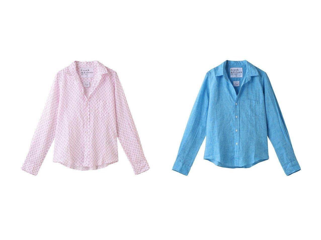 【Frank&Eileen/フランク&アイリーン】のBARRY イタリアンリネン パイナップルプリントシャツ&BARRY イタリアンリネン ブルーシャツ トップス・カットソーのおすすめ!人気、トレンド・レディースファッションの通販 おすすめで人気の流行・トレンド、ファッションの通販商品 メンズファッション・キッズファッション・インテリア・家具・レディースファッション・服の通販 founy(ファニー) https://founy.com/ ファッション Fashion レディースファッション WOMEN トップス カットソー Tops Tshirt シャツ/ブラウス Shirts Blouses 2021年 2021 2021 春夏 S/S SS Spring/Summer 2021 S/S 春夏 SS Spring/Summer スリーブ リネン ロング 春 Spring 長袖 |ID:crp329100000024830