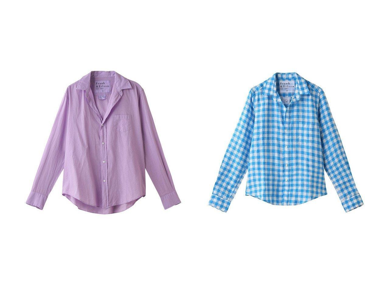 【Frank&Eileen/フランク&アイリーン】のBARRY イタリアンリネン チェックシャツ&EILEEN コットンボイル シャツ トップス・カットソーのおすすめ!人気、トレンド・レディースファッションの通販 おすすめで人気の流行・トレンド、ファッションの通販商品 メンズファッション・キッズファッション・インテリア・家具・レディースファッション・服の通販 founy(ファニー) https://founy.com/ ファッション Fashion レディースファッション WOMEN トップス カットソー Tops Tshirt シャツ/ブラウス Shirts Blouses 2021年 2021 2021 春夏 S/S SS Spring/Summer 2021 S/S 春夏 SS Spring/Summer シンプル スリーブ ロング 春 Spring 長袖 |ID:crp329100000024831