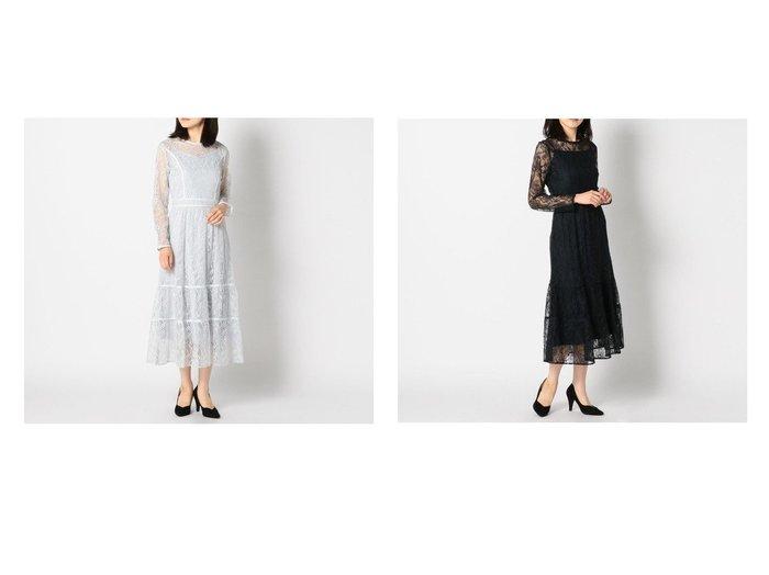 【MISCH MASCH/ミッシュマッシュ】のレースティーアードワンピース ワンピース・ドレスのおすすめ!人気、トレンド・レディースファッションの通販 おすすめファッション通販アイテム レディースファッション・服の通販 founy(ファニー)  ファッション Fashion レディースファッション WOMEN ワンピース Dress 2021年 2021 2021 春夏 S/S SS Spring/Summer 2021 S/S 春夏 SS Spring/Summer おすすめ Recommend インナー エレガント ティアード パーティ レース 春 Spring  ID:crp329100000024864