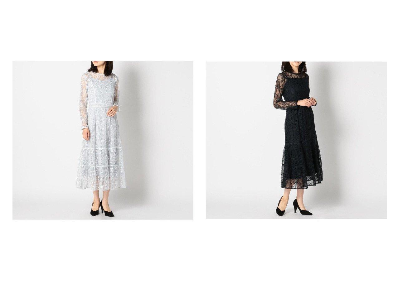 【MISCH MASCH/ミッシュマッシュ】のレースティーアードワンピース ワンピース・ドレスのおすすめ!人気、トレンド・レディースファッションの通販 おすすめで人気の流行・トレンド、ファッションの通販商品 メンズファッション・キッズファッション・インテリア・家具・レディースファッション・服の通販 founy(ファニー) https://founy.com/ ファッション Fashion レディースファッション WOMEN ワンピース Dress 2021年 2021 2021 春夏 S/S SS Spring/Summer 2021 S/S 春夏 SS Spring/Summer おすすめ Recommend インナー エレガント ティアード パーティ レース 春 Spring  ID:crp329100000024864