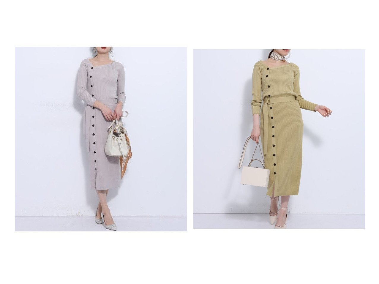 【Mystrada/マイストラーダ】のアシメリブワンピース ワンピース・ドレスのおすすめ!人気、トレンド・レディースファッションの通販 おすすめで人気の流行・トレンド、ファッションの通販商品 メンズファッション・キッズファッション・インテリア・家具・レディースファッション・服の通販 founy(ファニー) https://founy.com/ ファッション Fashion レディースファッション WOMEN ワンピース Dress シェイプ  ID:crp329100000024866