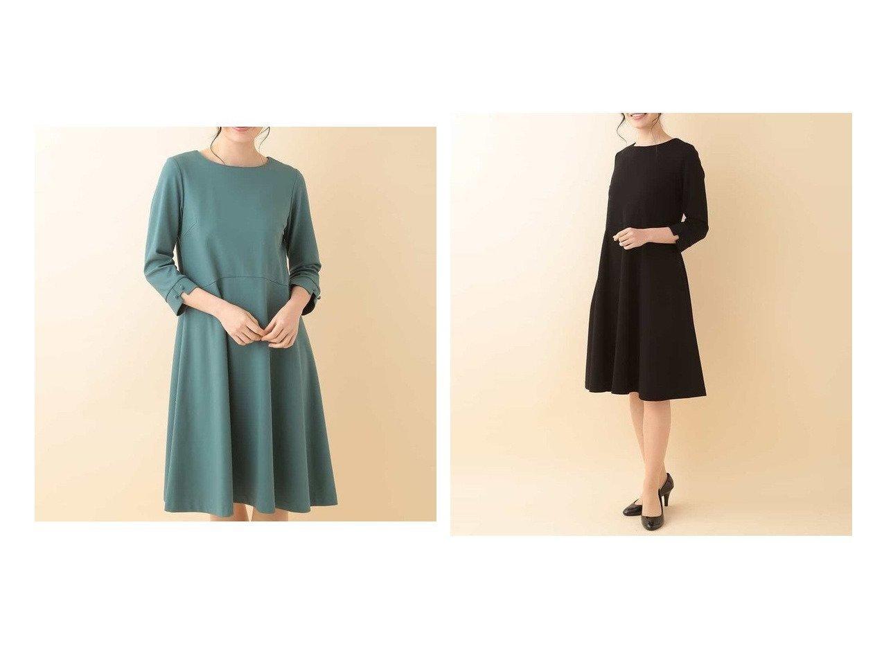 【Jocomomola/ホコモモラ】のGRACEFUL ポンチフレアワンピース ワンピース・ドレスのおすすめ!人気、トレンド・レディースファッションの通販 | レディースファッション・服の通販 founy(ファニー)
