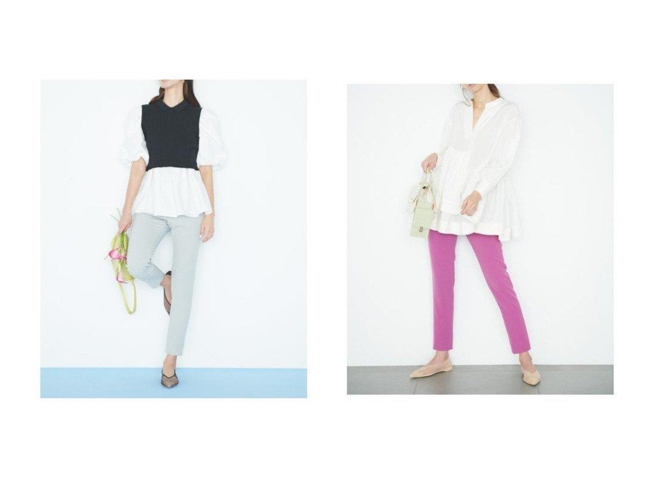【CELFORD/セルフォード】のカラースティックパンツ パンツのおすすめ!人気、トレンド・レディースファッションの通販 おすすめで人気の流行・トレンド、ファッションの通販商品 メンズファッション・キッズファッション・インテリア・家具・レディースファッション・服の通販 founy(ファニー) https://founy.com/ ファッション Fashion レディースファッション WOMEN パンツ Pants ウォッシャブル ストレッチ スマート 定番 Standard バランス ベーシック 再入荷 Restock/Back in Stock/Re Arrival  ID:crp329100000024961