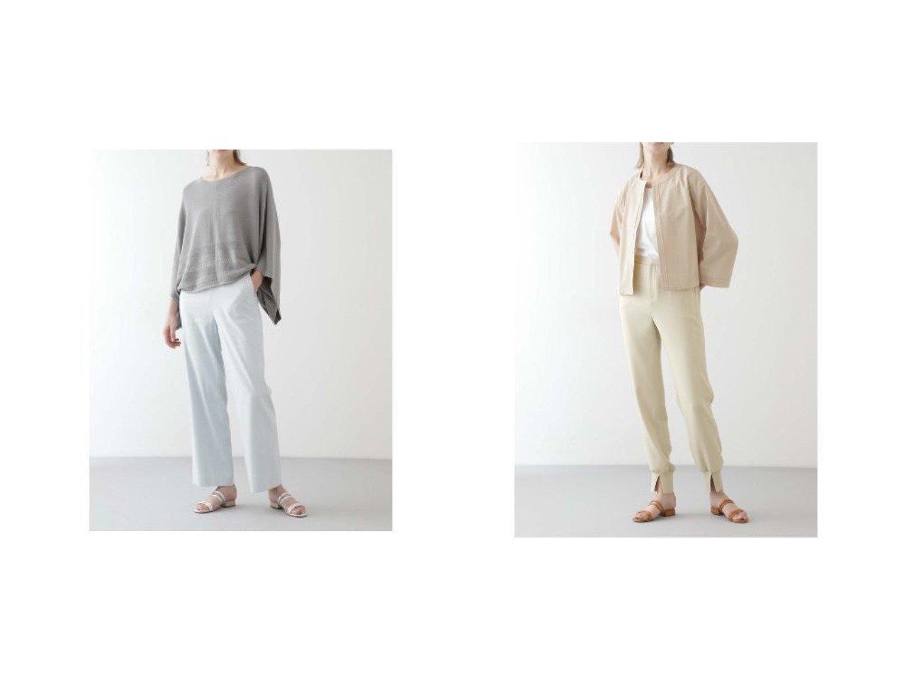 【BOSCH/ボッシュ】の麻/Visハイウエストストレートパンツ&ジョガーパンツ パンツのおすすめ!人気、トレンド・レディースファッションの通販 おすすめで人気の流行・トレンド、ファッションの通販商品 メンズファッション・キッズファッション・インテリア・家具・レディースファッション・服の通販 founy(ファニー) https://founy.com/ ファッション Fashion レディースファッション WOMEN パンツ Pants スタンダード ストライプ ストレッチ ストレート セットアップ リネン 春 Spring スリット フロント  ID:crp329100000024963