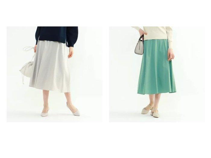 【INDIVI/インディヴィ】のキュプラスパンアシメヘムスカート スカートのおすすめ!人気、トレンド・レディースファッションの通販 おすすめファッション通販アイテム インテリア・キッズ・メンズ・レディースファッション・服の通販 founy(ファニー) https://founy.com/ ファッション Fashion レディースファッション WOMEN スカート Skirt キュプラ サテン シンプル ストレッチ |ID:crp329100000024991