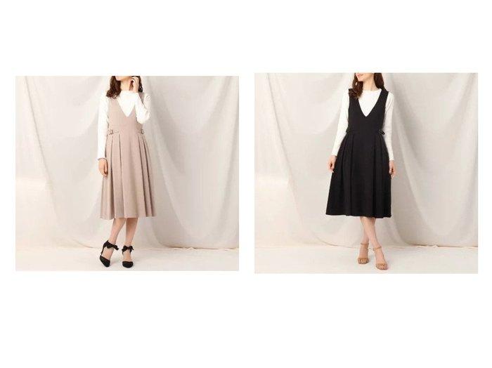 【Couture Brooch/クチュール ブローチ】のタックサイドベルトジャンスカ スカートのおすすめ!人気、トレンド・レディースファッションの通販 おすすめファッション通販アイテム レディースファッション・服の通販 founy(ファニー) ファッション Fashion レディースファッション WOMEN スカート Skirt ベルト Belts ポケット  ID:crp329100000024999