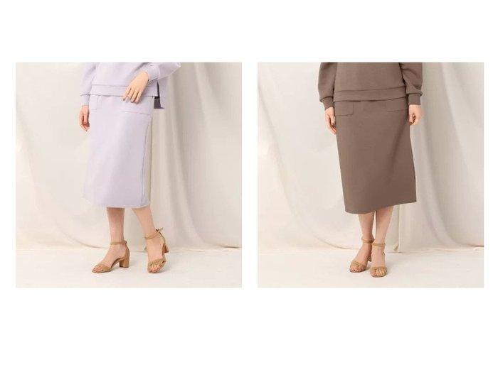 【Couture Brooch/クチュール ブローチ】のダンボールタイトスカート スカートのおすすめ!人気、トレンド・レディースファッションの通販 おすすめファッション通販アイテム レディースファッション・服の通販 founy(ファニー) ファッション Fashion レディースファッション WOMEN スカート Skirt セットアップ バランス パッチ ポケット  ID:crp329100000025000