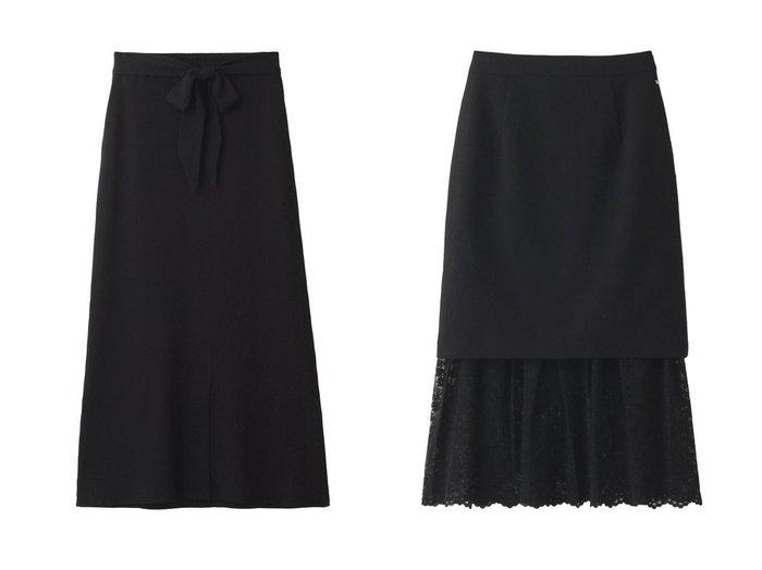 【Ezick/エジック】のコアスバンヤーンニットスカート&TRレーススカート スカートのおすすめ!人気、トレンド・レディースファッションの通販 おすすめファッション通販アイテム レディースファッション・服の通販 founy(ファニー) ファッション Fashion レディースファッション WOMEN スカート Skirt 2021年 2021 2021 春夏 S/S SS Spring/Summer 2021 S/S 春夏 SS Spring/Summer おすすめ Recommend シンプル セットアップ リボン 春 Spring |ID:crp329100000025005
