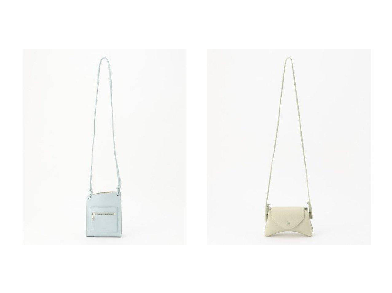 【KUMIKYOKU/組曲】のラウンド ショルダーバッグ&シェイプシュリンク ショルダーバッグ バッグ・鞄のおすすめ!人気、トレンド・レディースファッションの通販 おすすめで人気の流行・トレンド、ファッションの通販商品 メンズファッション・キッズファッション・インテリア・家具・レディースファッション・服の通販 founy(ファニー) https://founy.com/ ファッション Fashion レディースファッション WOMEN バッグ Bag 2021年 2021 2021 春夏 S/S SS Spring/Summer 2021 S/S 春夏 SS Spring/Summer シンプル スマート フォルム ラウンド フラップ ポシェット 財布 |ID:crp329100000025026
