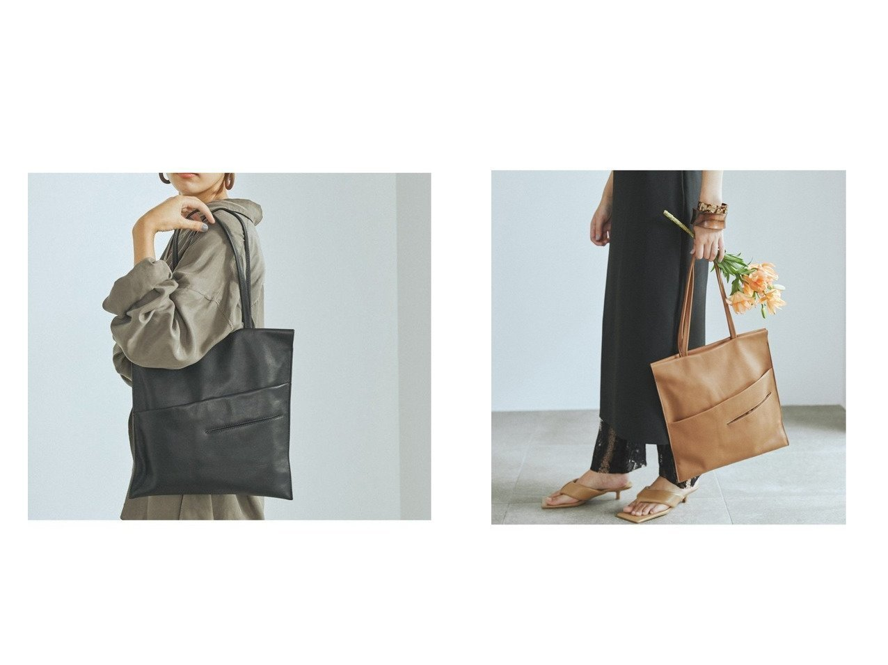 【TOPKAPI/トプカピ】のスムースフラット A4 トートバッグ バッグ・鞄のおすすめ!人気、トレンド・レディースファッションの通販 おすすめで人気の流行・トレンド、ファッションの通販商品 メンズファッション・キッズファッション・インテリア・家具・レディースファッション・服の通販 founy(ファニー) https://founy.com/ ファッション Fashion レディースファッション WOMEN バッグ Bag NEW・新作・新着・新入荷 New Arrivals アシンメトリー コンパクト トレンド フラット ポケット |ID:crp329100000025030