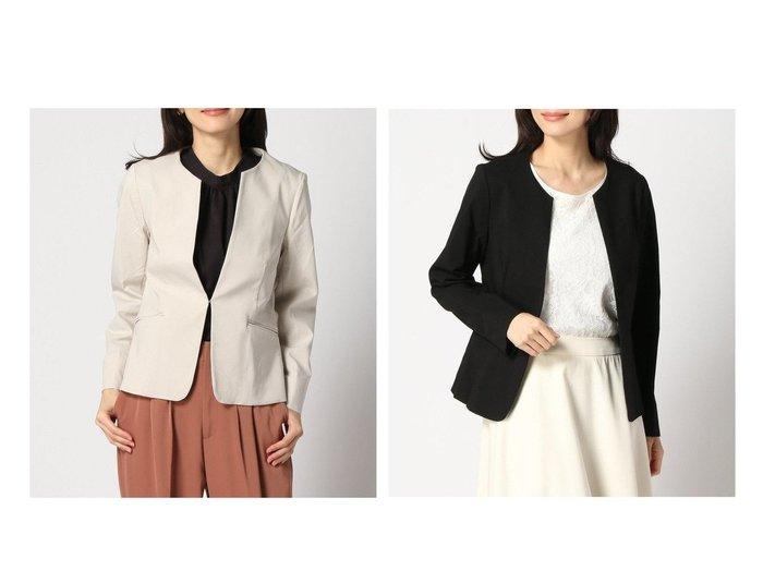 【GLOBAL WORK/グローバルワーク】のスゴラクノーカラーJK+D アウターのおすすめ!人気、トレンド・レディースファッションの通販 おすすめファッション通販アイテム レディースファッション・服の通販 founy(ファニー)  ファッション Fashion レディースファッション WOMEN アウター Coat Outerwear コート Coats ジャケット Jackets ノーカラージャケット No Collar Leather Jackets ジャケット ストレッチ |ID:crp329100000025096