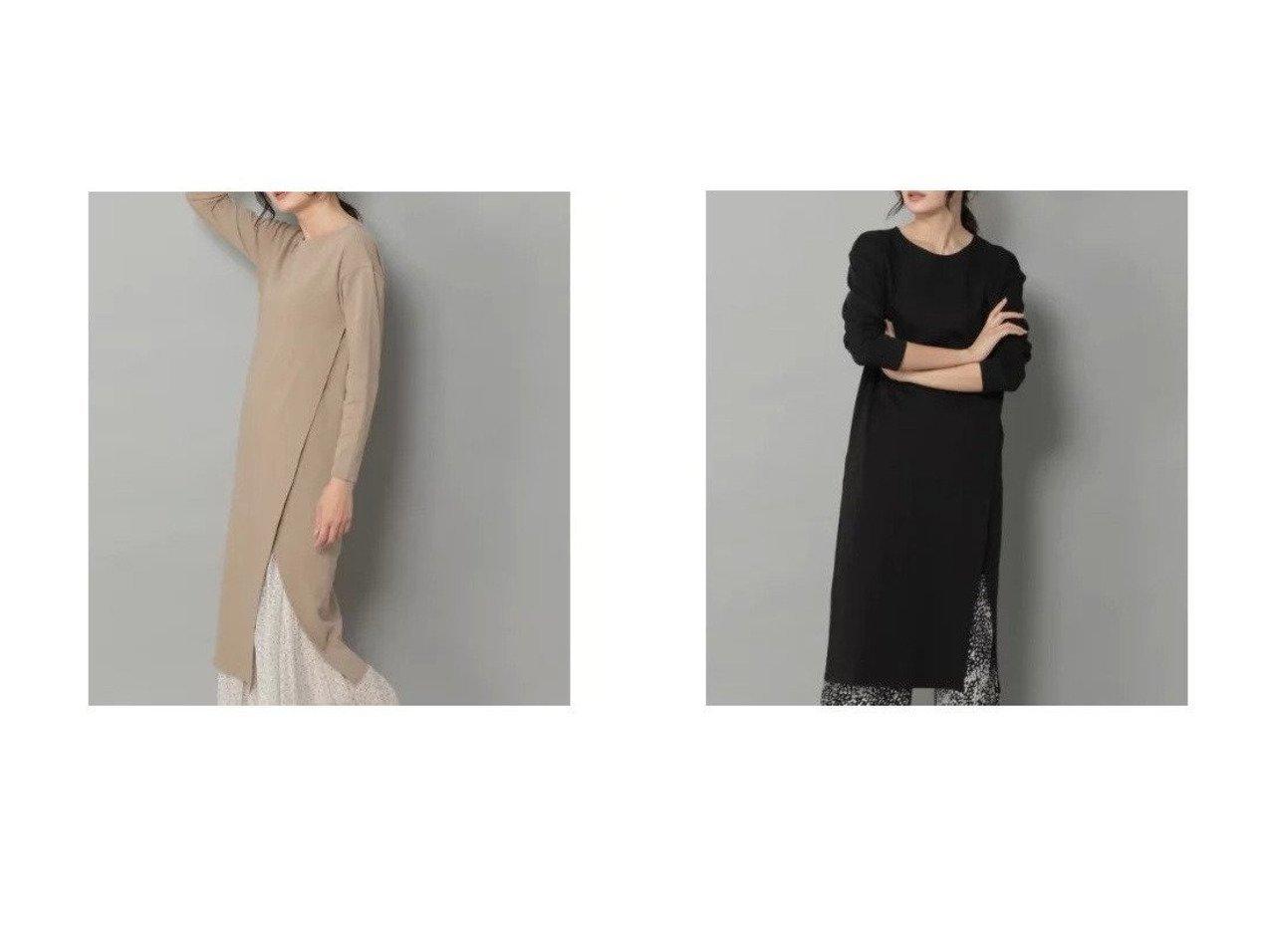 【Elura/エルーラ】のサマ見えカシュクールワンピース ワンピース・ドレスのおすすめ!人気、トレンド・レディースファッションの通販    レディースファッション・服の通販 founy(ファニー)