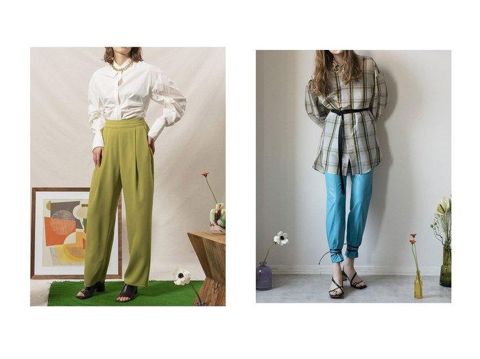 【MAISON SPECIAL/メゾンスペシャル】のシアーチェックオーバーシャツ&サーキュラースリーブシャツ トップス・カットソーのおすすめ!人気、トレンド・レディースファッションの通販  おすすめファッション通販アイテム レディースファッション・服の通販 founy(ファニー) ファッション Fashion レディースファッション WOMEN トップス カットソー Tops Tshirt シャツ/ブラウス Shirts Blouses インナー 春 Spring ギャザー ショルダー ショーツ スリーブ タフタ ダウン デニム ドローストリング ミドル ロング 2021年 2021 S/S 春夏 SS Spring/Summer 2021 春夏 S/S SS Spring/Summer 2021 おすすめ Recommend |ID:crp329100000025141