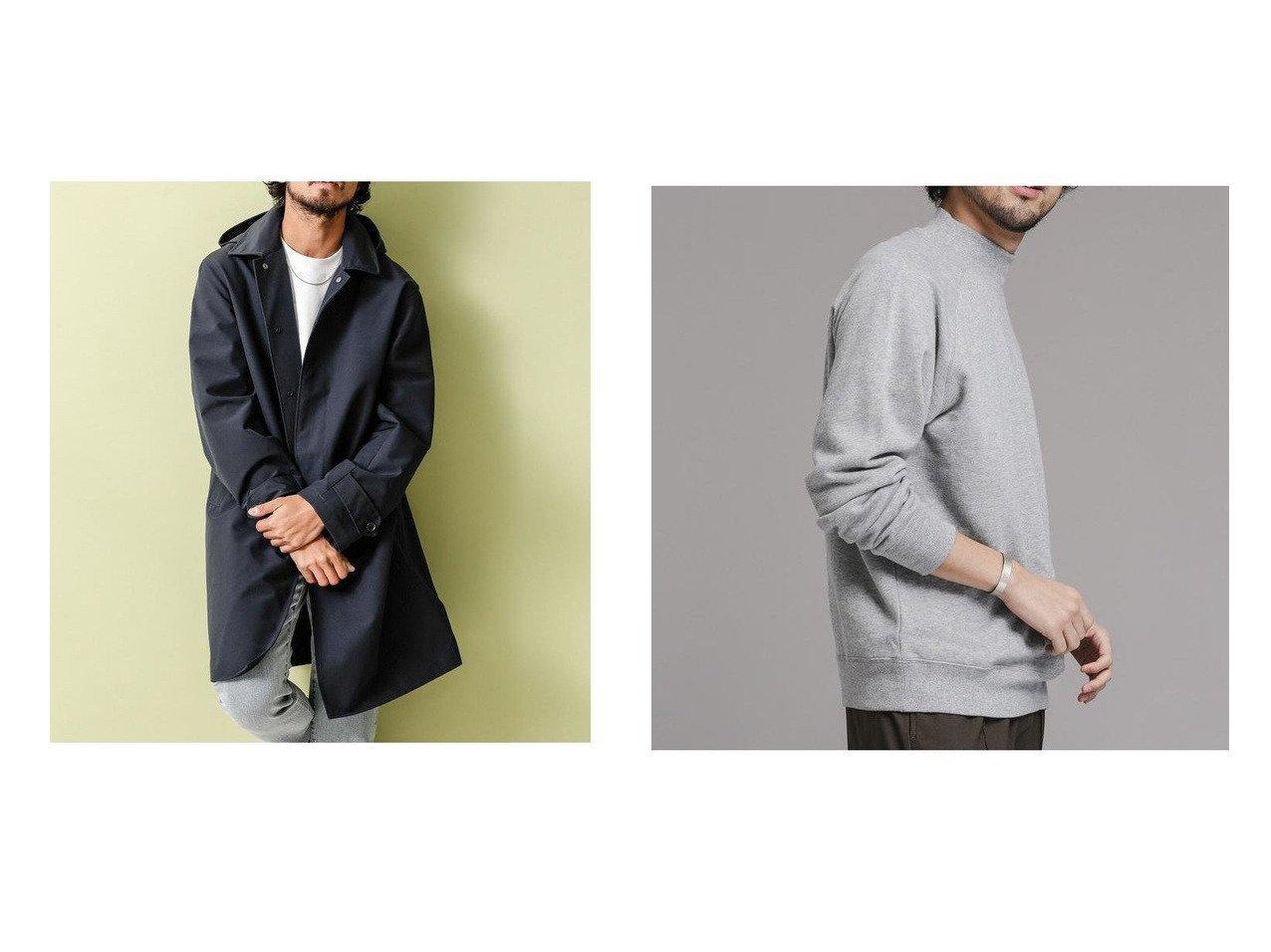 【nano universe / MEN/ナノ ユニバース】のモックネックラグランスウェット&7DAYS COATフード脱着ステンコート 【MEN】おすすめ!人気トレンド・男性、メンズファッションの通販 おすすめで人気の流行・トレンド、ファッションの通販商品 メンズファッション・キッズファッション・インテリア・家具・レディースファッション・服の通販 founy(ファニー) https://founy.com/ ファッション Fashion メンズファッション MEN アウター Coats Outerwear Men トレンチコート Trench Coats トップス カットソー Tops Tshirt Men シャツ Shirts 軽量 シンプル ジャケット ストライプ スーツ ドット ドレス インナー スリーブ リラックス |ID:crp329100000025174