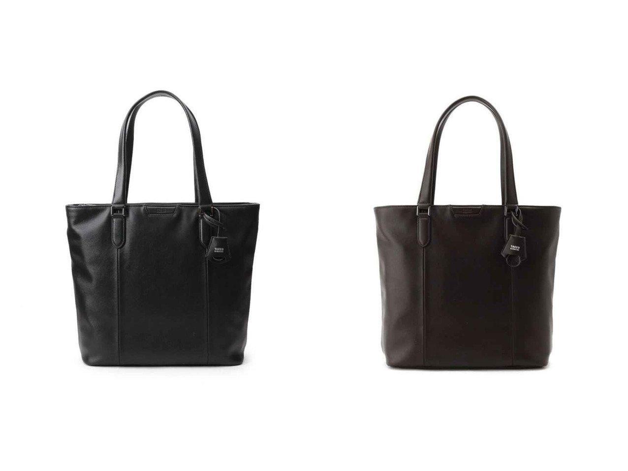【TAKEO KIKUCHI / MEN/タケオキクチ】のブラック ブラウン モノトーントートバッグ 【MEN】おすすめ!人気トレンド・男性、メンズファッションの通販 おすすめで人気の流行・トレンド、ファッションの通販商品 メンズファッション・キッズファッション・インテリア・家具・レディースファッション・服の通販 founy(ファニー) https://founy.com/ ファッション Fashion メンズファッション MEN バッグ Bag Men トートバッグ Tote Bags 傘 シンプル ジャケット スラックス ポケット  ID:crp329100000025181