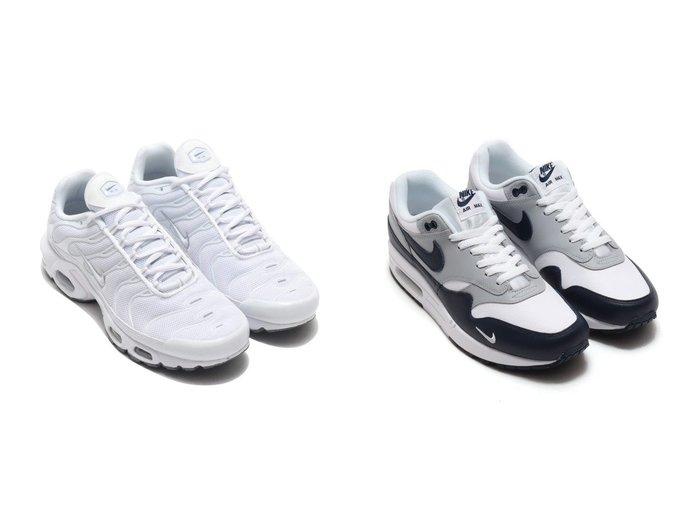 【NIKE / MEN/ナイキ】のNIKE AIR MAX PLUS&NIKE AIR MAX 1 LV8 【MEN】おすすめ!人気トレンド・男性、メンズファッションの通販 おすすめファッション通販アイテム レディースファッション・服の通販 founy(ファニー) ファッション Fashion メンズファッション MEN シューズ・靴 Shoes Men スニーカー Sneakers シューズ スニーカー スリッポン メッシュ 軽量 |ID:crp329100000025184