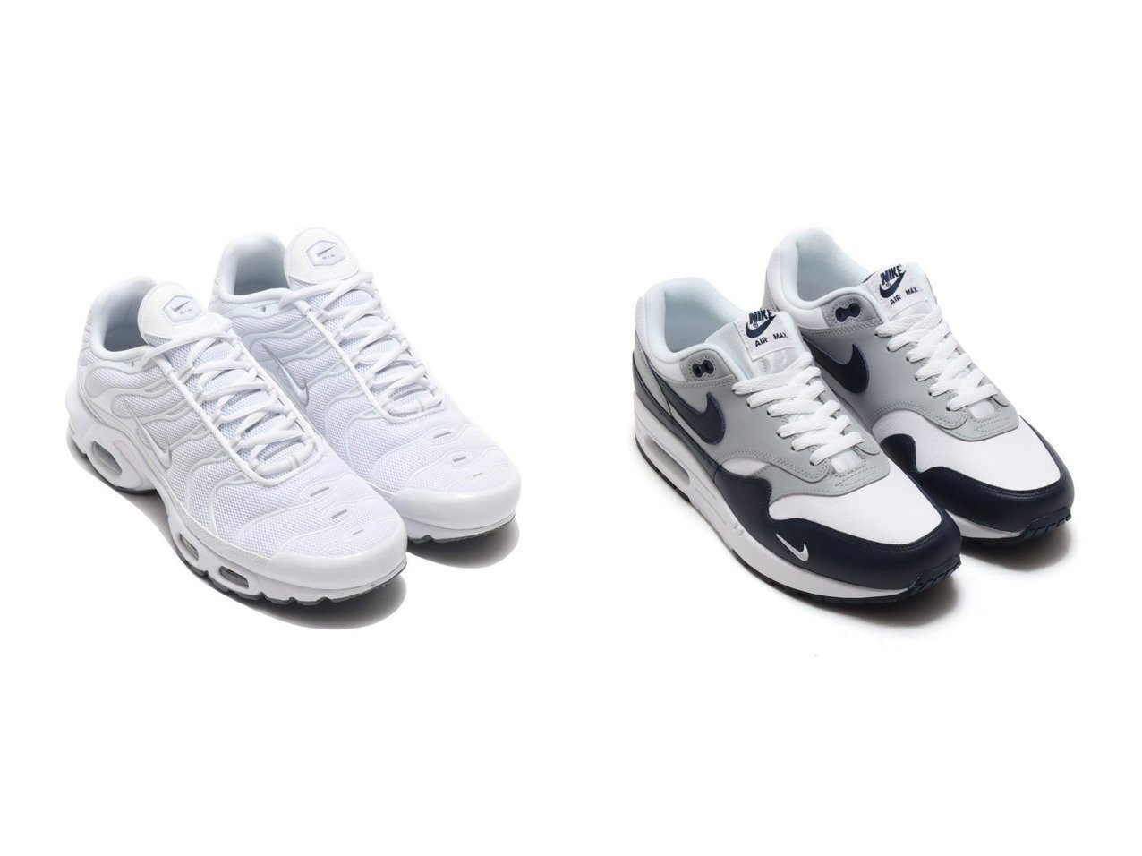 【NIKE / MEN/ナイキ】のNIKE AIR MAX PLUS&NIKE AIR MAX 1 LV8 【MEN】おすすめ!人気トレンド・男性、メンズファッションの通販 おすすめで人気の流行・トレンド、ファッションの通販商品 メンズファッション・キッズファッション・インテリア・家具・レディースファッション・服の通販 founy(ファニー) https://founy.com/ ファッション Fashion メンズファッション MEN シューズ・靴 Shoes Men スニーカー Sneakers シューズ スニーカー スリッポン メッシュ 軽量  ID:crp329100000025184